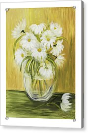 Bright And Sunny Acrylic Print by Nancy Edwards
