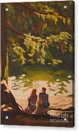 Bright Angel Moment Acrylic Print by Janet McDonald