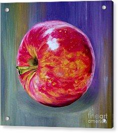 Bright Apple Acrylic Print by Graciela Castro