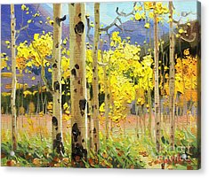 Bright Autumn  Acrylic Print