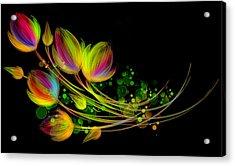 Bright Bouquet Acrylic Print