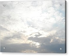 Bright Clouds Acrylic Print