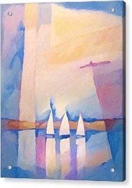 Bright Day At Sea Acrylic Print by Lutz Baar