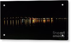 Acrylic Print featuring the photograph Bright Lights by Megan Dirsa-DuBois
