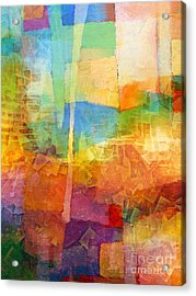 Bright Mood Acrylic Print by Lutz Baar