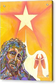 Bright Morning Star Acrylic Print by Peter Olsen