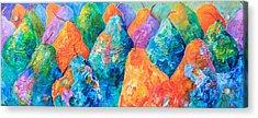 Bright Pears Acrylic Print