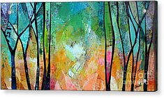 Bright Skies For Dark Days II Acrylic Print by Shadia Derbyshire