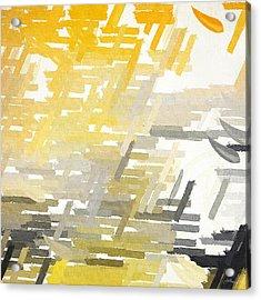 Bright Slashes Acrylic Print