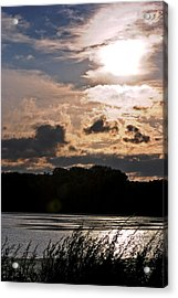 Bright Sun Acrylic Print by Mark Russell