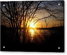 Acrylic Print featuring the photograph Bright Sunrise by Jason Lees