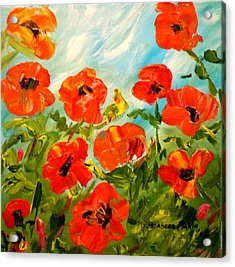 Bright Sunshiny Day Acrylic Print by Barbara Pirkle