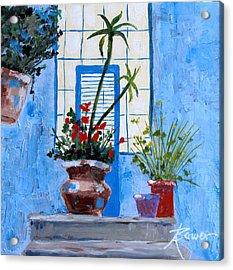 Bright Window Acrylic Print