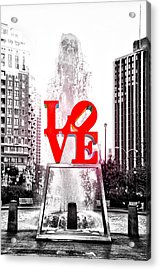 Brightest Love Acrylic Print