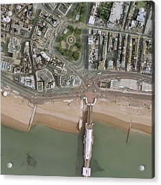 Brighton Pier And Seafront Acrylic Print