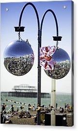 Brighton With Pride Acrylic Print by Max CALLENDER