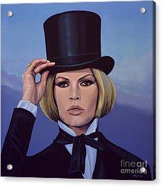 Brigitte Bardot 2 Acrylic Print by Paul Meijering