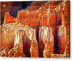 Acrylic Print featuring the photograph Brilliant Bryce by Marty Koch