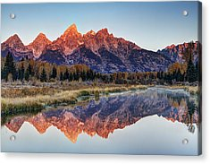 Brilliant Cathedral Acrylic Print by Mark Kiver