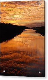 Brilliant Reflection Acrylic Print