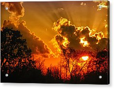 Brilliant Sunset Acrylic Print