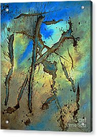 Acrylic Print featuring the painting Brillig by Stuart Engel