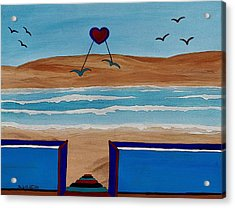 Bringing The Heart Home Acrylic Print by Barbara St Jean