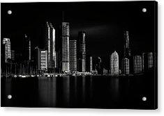 Brisbane City Of Light Acrylic Print