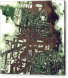 Brisbane Floods Acrylic Print by Digital Globe