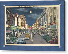 Bristol At Night In The 1940's Acrylic Print