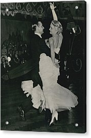 Brit I H Pajr Wins Dancing Grand Prix Acrylic Print by Retro Images Archive