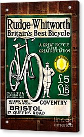 Britains Best Bicycle Acrylic Print by Adrian Evans