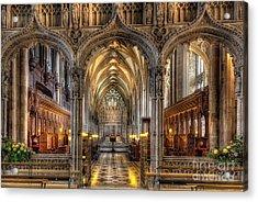 British Church Acrylic Print by Adrian Evans
