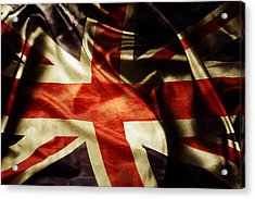 British Flag  Acrylic Print