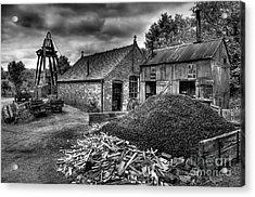 British Mine Acrylic Print by Adrian Evans
