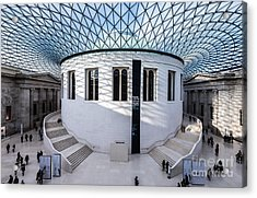 Acrylic Print featuring the photograph British Museum Color by Matt Malloy