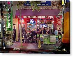 British Pub Acrylic Print