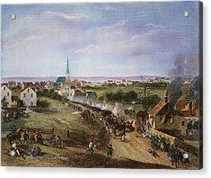 British Retreat, 1775 Acrylic Print