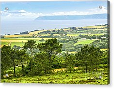 Brittany Landscape With Ocean View Acrylic Print