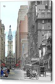 Broad Street Theatre Acrylic Print