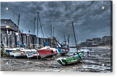 Broadstairs Harbour Acrylic Print