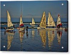 Broadstairs Sailing Acrylic Print