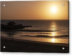 Acrylic Print featuring the photograph Broadstairs Sunrise by David Isaacson