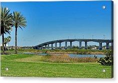 Broadway Bridge Daytona Beach Acrylic Print
