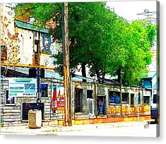Broadway Oyster Bar With A Boost Acrylic Print