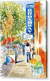 Broadway Theatre - Saskatoon Acrylic Print