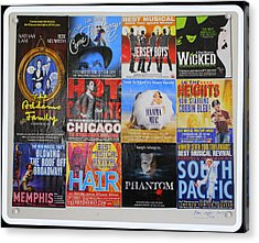 Broadway's Favorites Acrylic Print