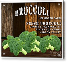Broccoli Farm Acrylic Print
