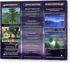 Brochure 2015 - Exterior Acrylic Print
