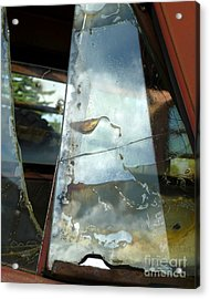 Acrylic Print featuring the photograph Broke by Newel Hunter